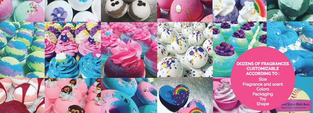 Ready to Label Wholesale Bath Bombs | Supplier and Manufacturer