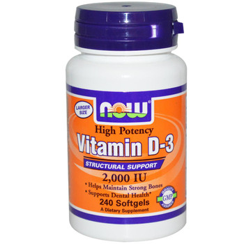 Vitamin D3 2000 IU (240 Soft Gels)