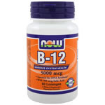Vitamin B-12 5000 mcg + FOLIC (60 Tablets)