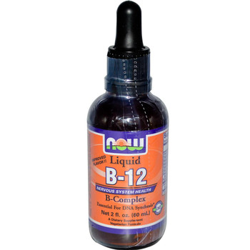 Vitamin B 12 Liquid B Complex 8 Oz Now Brand Buy