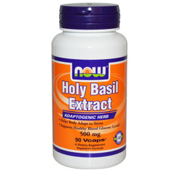 Holy Basil Extract 500 mg - 90 Vcaps