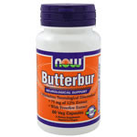 NOW Foods Butterbur with Feverfew, 60 Capsules - Bettys ...