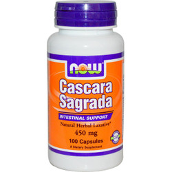 Cascara Sagrada 450 mg - 100 Capsules