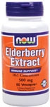 Elderberry Extract 500 mg Vegetarian - 60 Vcaps