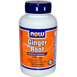 Ginger Root 550 mg - 100 Capsules