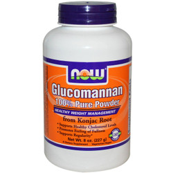 Glucomannan 100% Pure Powder - 8 oz.