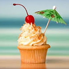 Pure Malibu Rum Cupcakes Fragrance Oil