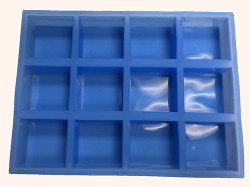 Silicone Square Soap Mold (12 Cavity)