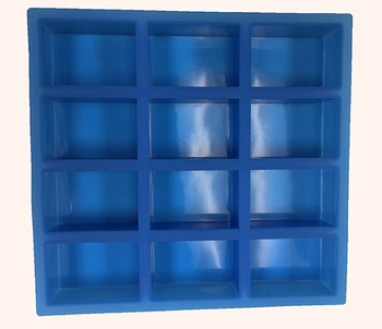 Silicone Rectangle Soap Mold (12 Cavity) | Soap Making