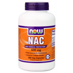 NAC - Acetyl Cysteine 600 mg - 250 Vcaps