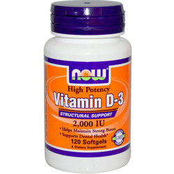 Vitamin D-2000  IU - 120 Soft Gels