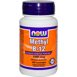 Methyl B-12 1000 mcg - 100 Lozenges
