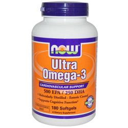 Ultra Omega-3 Fish Oil - 180 Soft Gels