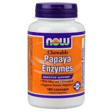 Papaya Enzyme Chewable - 180 Tablets