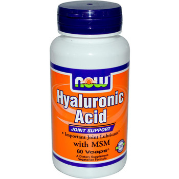 Hyaluronic Acid 50 mg Plus MSM - 120 Vcaps