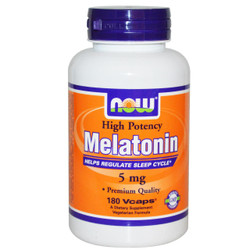 Melatonin 5 mg - 180 Vcaps