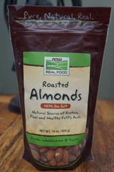 Almonds Roasted and Salted - 1 Lb
