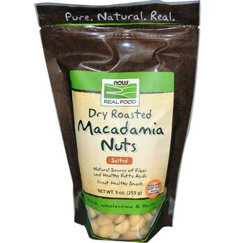 Macadamia Nuts Roasted and Salted - 9 oz