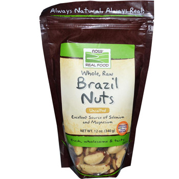 Raw Organic Brazil Nuts - 10 oz
