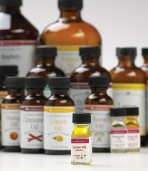Pure Lorann Oils Praline Flavor Sizes