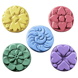 Guest 5 Flowers Soap Mold