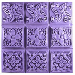 Brocade Tray Soap Mold