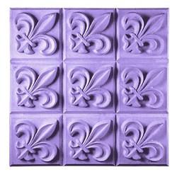 Fleur De Lis Tray Soap Mold