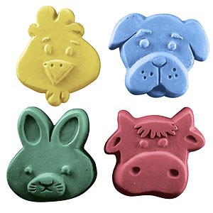 Kids Critters 3 Soap Mold