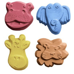 Kids Critters 4 Soap Mold