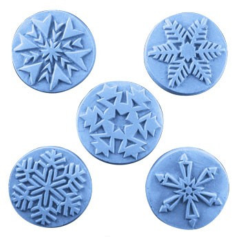 Guest Snow Flakes Soap Mold