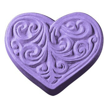 Victorian Heart Soap Mold
