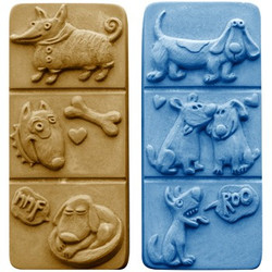 Breakaway Dogs Soap Mold