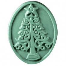 Xmas Tree Soap Mold