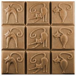 Tray-Kitty Kats Soap Mold
