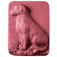 Dog Sitting Soap Mold