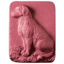 Dog Sitting Soap Mold