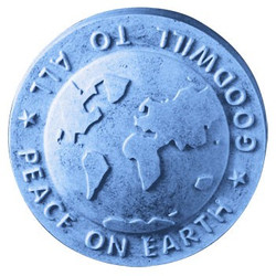 Peace on Earth Globe Soap Mold