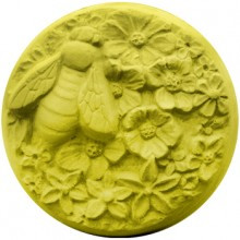Bee and Blossoms Soap Mold