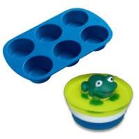 Silicone Muffin Soap Mold