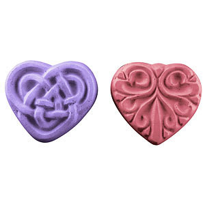 Guest Hearts Soap Mold