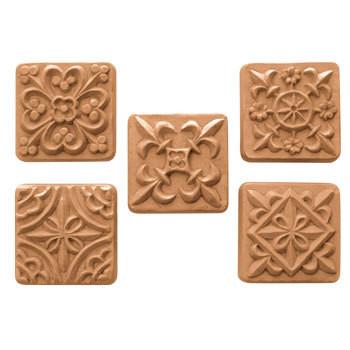 Guest Medieval Tiles Soap Mold