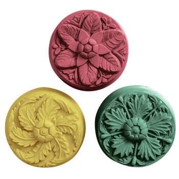 Rosettes Soap Mold