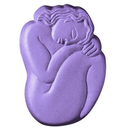 Sleeping Woman Soap Mold