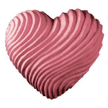 Swirled Heart Soap Mold