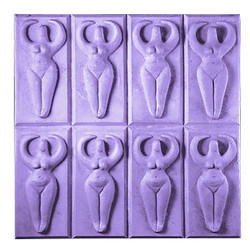 Tray-Goddess Soap Mold