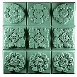 Tray-Gothic Florals Soap Mold