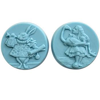 Wonderland 2 Soap Mold
