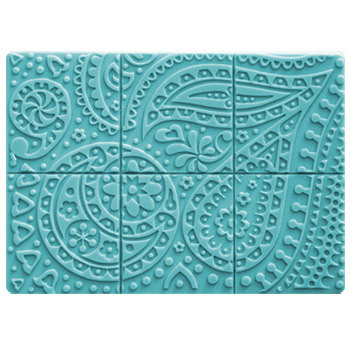 Tray-Paisley Soap Mold
