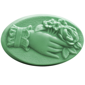 Victorian Bouquet Soap Mold