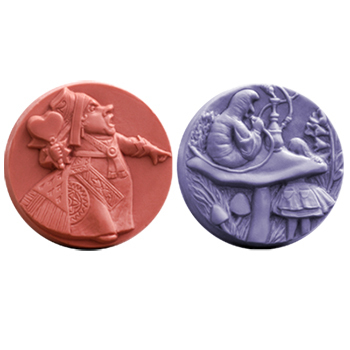 Wonderland 3 Soap Mold